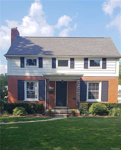 2228 Stanhope Street, Grosse Pointe Woods, MI 48236 - MLS#: 218071145