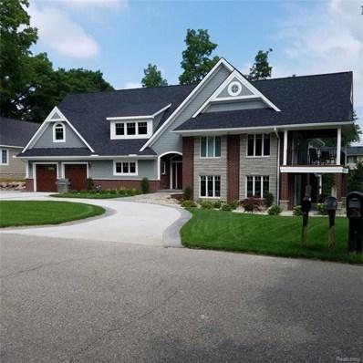 2923 Birch Harbor Lane, West Bloomfield Twp, MI 48324 - MLS#: 218071222