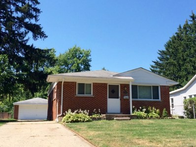 2609 Maplewood Avenue, Royal Oak, MI 48073 - MLS#: 218071674