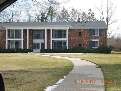 448 Fox Hills Drive S UNIT #5, Bloomfield Twp, MI 48304 - MLS#: 218071794