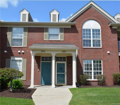 29559 Nottingham Circle UNIT 40, Livonia, MI 48152 - MLS#: 218072006