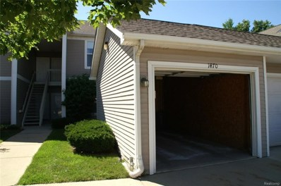 1470 Fox Pointe Circle, Pittsfield Twp, MI 48108 - MLS#: 218072030