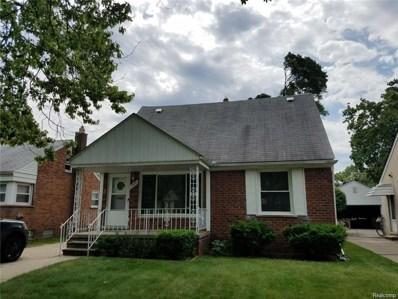 1537 N Silvery Lane, Dearborn, MI 48128 - MLS#: 218072166