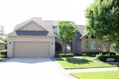 54331 Mark Richard Drive, Macomb Twp, MI 48042 - MLS#: 218072320