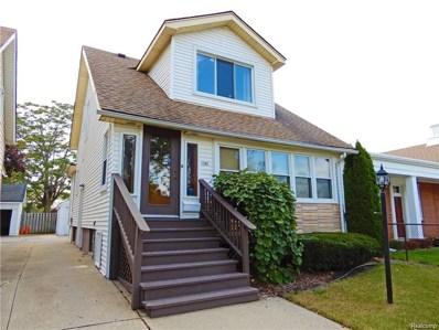 1381 Wayburn Street, Grosse Pointe Park, MI 48230 - MLS#: 218072769