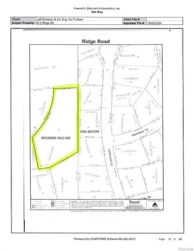 610 Ridge Road, Bloomfield Twp, MI 48302 - MLS#: 218073298