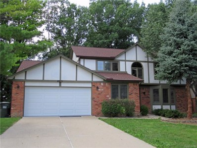 2821 Steamboat Springs Drive, Rochester Hills, MI 48309 - MLS#: 218073558