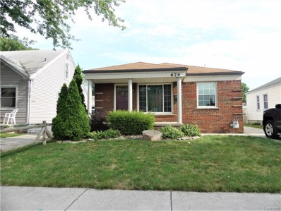 674 Highland Avenue, Lincoln Park, MI 48146 - MLS#: 218073705