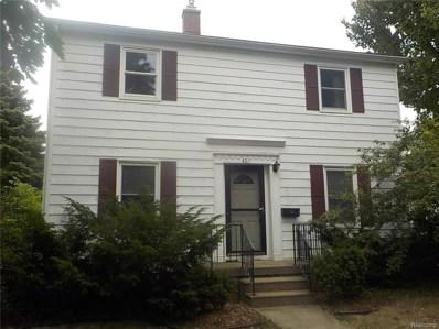 401 S Vernon Avenue, Flint, MI 48503 - MLS#: 218073912