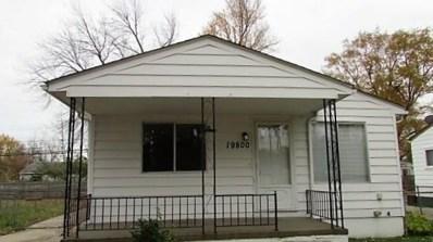 19800 Colman Street, Clinton Twp, MI 48035 - MLS#: 218074228