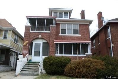 3444 Wager Street, Detroit, MI 48206 - MLS#: 218074858
