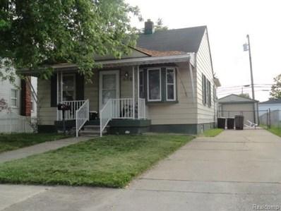 866 Cora Street, Wyandotte, MI 48192 - MLS#: 218075269