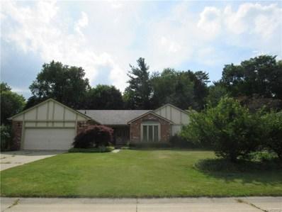 1726 Black Maple Drive, Rochester Hills, MI 48309 - MLS#: 218076055