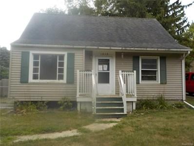 1413 Raspberry Lane, Flint, MI 48507 - MLS#: 218076136
