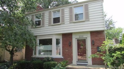 2211 Allard Avenue, Grosse Pointe Woods, MI 48236 - MLS#: 218076904