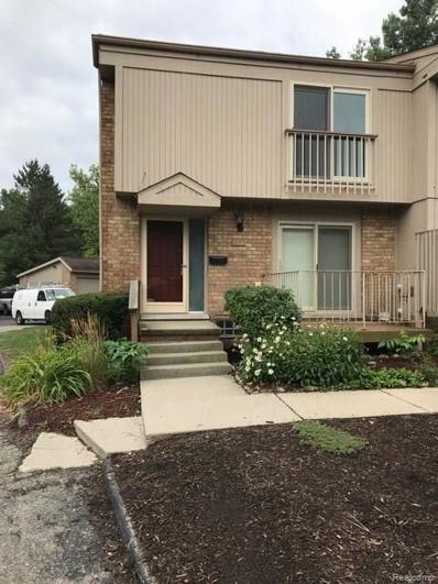 661 Oakbrook W, Rochester Hills, MI 48307 - MLS#: 218077112