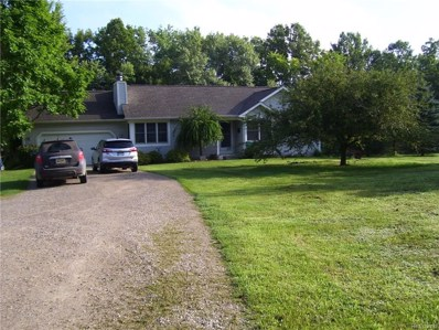 3520 Columbiaville Road, Marathon Twp, MI 48421 - MLS#: 218077223