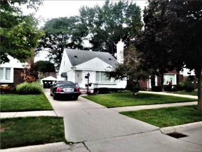 1755 N Franklin Street, Dearborn, MI 48128 - MLS#: 218077492