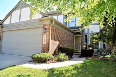 1843 Lone Wolf Lane UNIT 27, Canton Twp, MI 48188 - MLS#: 218077611