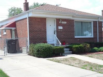 14717 University Street, Allen Park, MI 48101 - MLS#: 218077680