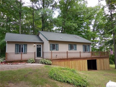 12178 Goudy Lake Road, Forest Twp, MI 48463 - MLS#: 218077732