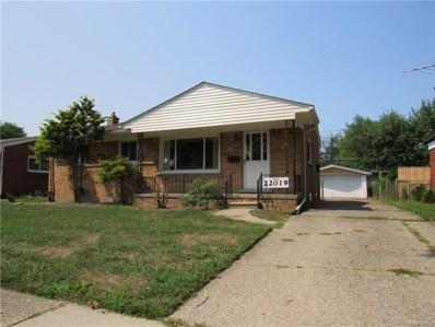 22019 Hill Street, Warren, MI 48091 - MLS#: 218078636