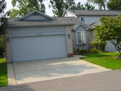 21657 Quail Ridge Drive S, Brownstown Twp, MI 48193 - MLS#: 218078973