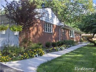 195 Nesbit Lane, Rochester Hills, MI 48309 - MLS#: 218078999