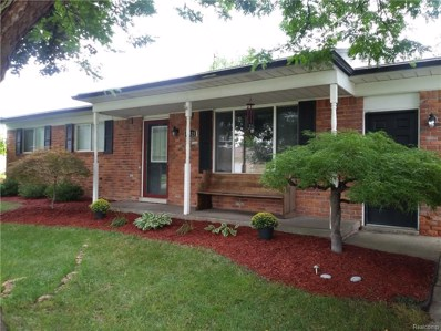 48628 Stanford Drive, Shelby Twp, MI 48317 - MLS#: 218079473