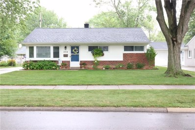 234 Sheffield Drive, Troy, MI 48083 - MLS#: 218079659