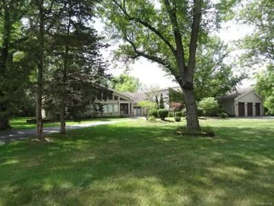 4555 Cherokee Lane, Bloomfield Twp, MI 48301 - MLS#: 218079817