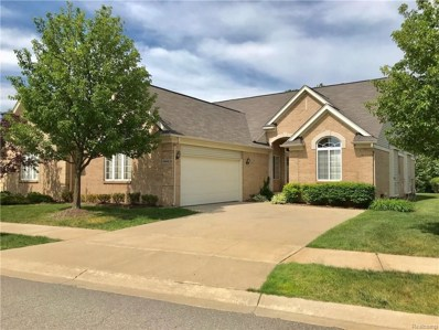 49448 N Glacier UNIT 18, Northville Twp, MI 48168 - MLS#: 218079872