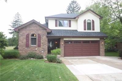 45343 Deneweth Road, Macomb Twp, MI 48042 - MLS#: 218080186