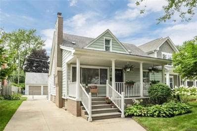 1303 N Maple Avenue, Royal Oak, MI 48067 - MLS#: 218081158
