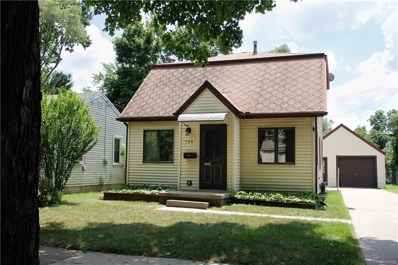 728 Maplehill Avenue, Lansing, MI 48910 - MLS#: 218081318