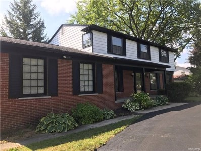 5823 Shaun Road, West Bloomfield Twp, MI 48322 - MLS#: 218081487