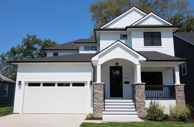 610 Cherry Avenue, Royal Oak, MI 48073 - MLS#: 218082319