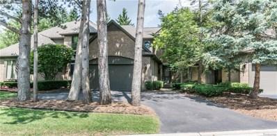 843 Adams Court, Bloomfield Twp, MI 48304 - MLS#: 218083343