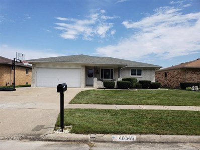 40346 Pritts Court, Clinton Twp, MI 48038 - MLS#: 218084335