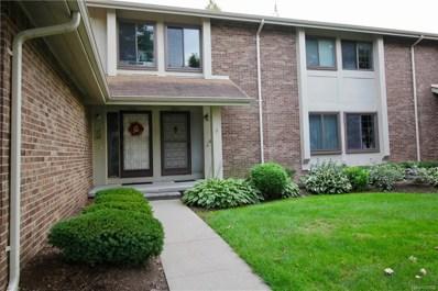 2861 Trailwood Drive, Rochester Hills, MI 48309 - MLS#: 218085013