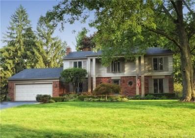 769 N Shady Hollow Circle, Bloomfield Twp, MI 48304 - MLS#: 218085257