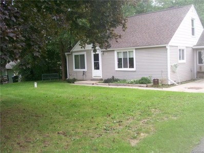 6635 Walters Road, Independence Twp, MI 48346 - MLS#: 218085622