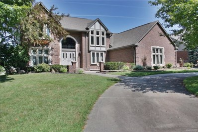 48196 Lake Valley Drive, Shelby Twp, MI 48317 - MLS#: 218085771