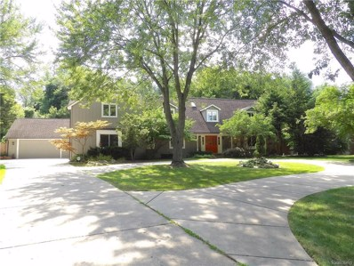 1825 Huntingwood Lane, Bloomfield Hills, MI 48304 - MLS#: 218086040