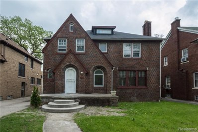 2495 W Boston Boulevard, Detroit, MI 48206 - MLS#: 218087755
