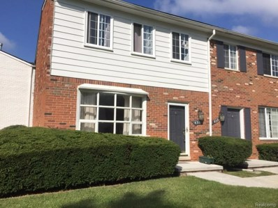 431 Fox Hills Drive N UNIT 87, Bloomfield Twp, MI 48304 - MLS#: 218088327