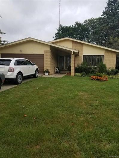 26080 Woodvilla Pl N, Southfield, MI 48076 - MLS#: 218088493