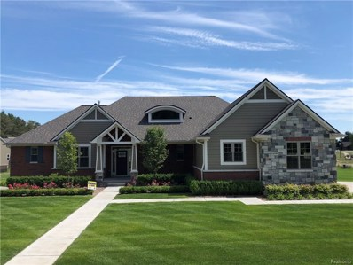1451 Glass Lake Circle, Oxford Twp, MI 48371 - MLS#: 218088662