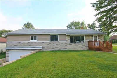5345 Clinton River Drive, Waterford Twp, MI 48327 - MLS#: 218088982