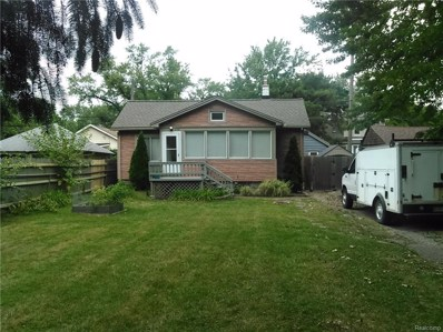 356 W Robert Avenue, Hazel Park, MI 48030 - MLS#: 218089398